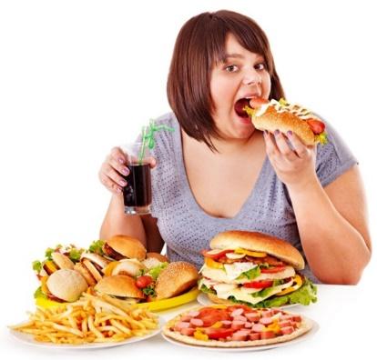 อาหารขยะส่งผลต่อร่างกาย